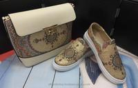 Nine West Faux Alligator Woman Accessory Purse Clutch Hand Bag Shoes