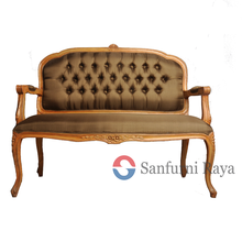 Antique Indonesia Reproduction French Style Furniture Wooden Sofa Frame