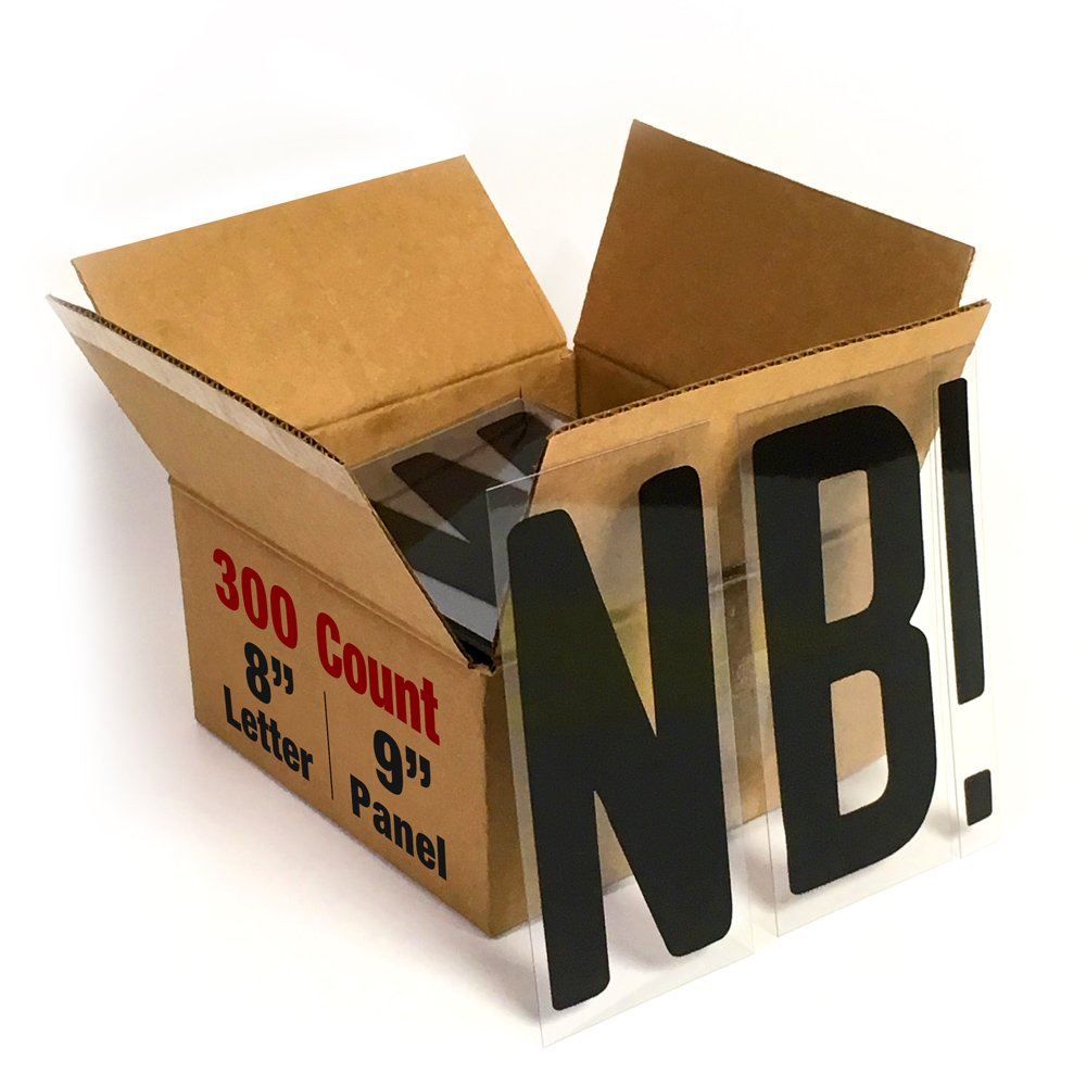 """Buy Changeable Outdoor Sign Letters 8"""" Portable Flex Letters"""