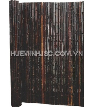 Smoked Bamboo Rolled Fence - Buy Outdoor Smoked Bamboo Fence,Garden Rolling  Smoked Bamboo Screen,Roll Up Decoration Smoked Bamboo Fencing Product on