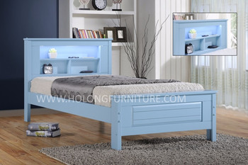 Solid Wood Bed Single And Super Single Kids Bed Frame Solid Wood Bed