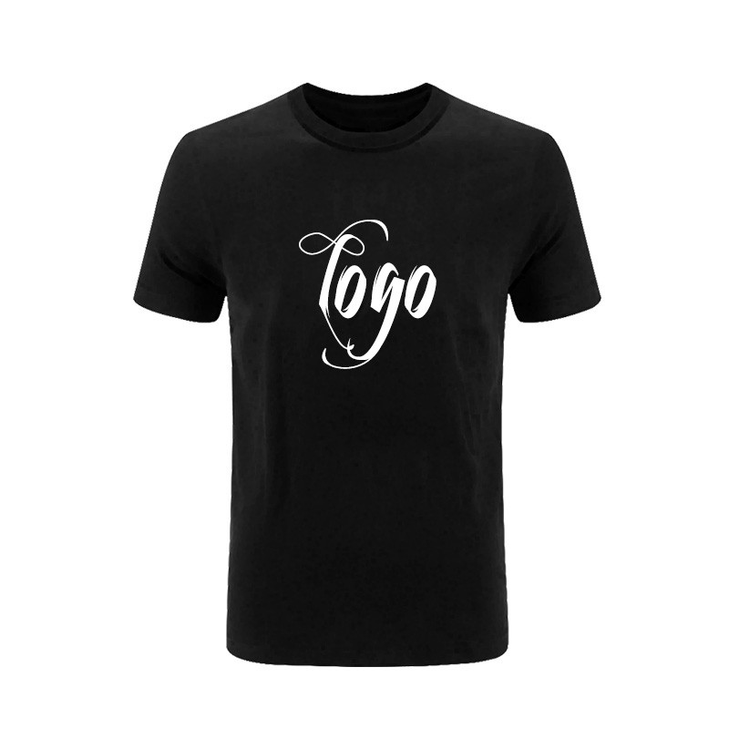 OEM High Quality Custom Logos Combed Cotton 180gsm Screen Printing Men's T Shirt