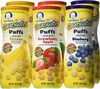 GERBER GRADUATES PUFFS CEREAL SNACK PEACH CRAWLER BABY FEEDING DAILY CARE