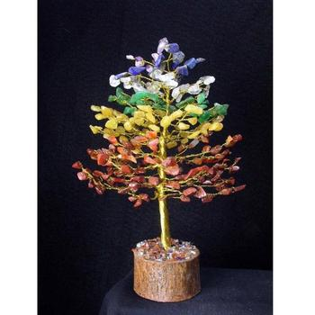 Wholesale 7 Chakra Stone Tree For Healing Decoration - Chakra Healing Tree For Sale