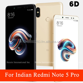 new arrival d983e ef257 Indian Redmi Note 5 Pro Tempered Glass Screen Protector Full 6d Cover - Buy  India Xiaomi Redmi Note 5 Pro Tempered Glass,Indian Redmi Note 5 Pro ...