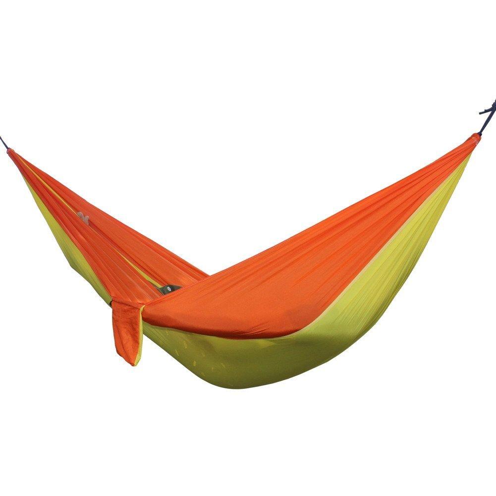 Indoor Outdoor Hammock, WinnerEco Portable Double Person Camping Garden Leisure Travel Hammock