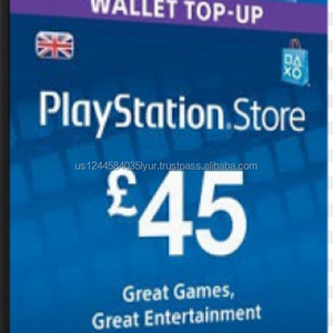 Playstation Network Karte.Sony Playstation Uk Store Gift Card 5 Gbp To 50 Gbp
