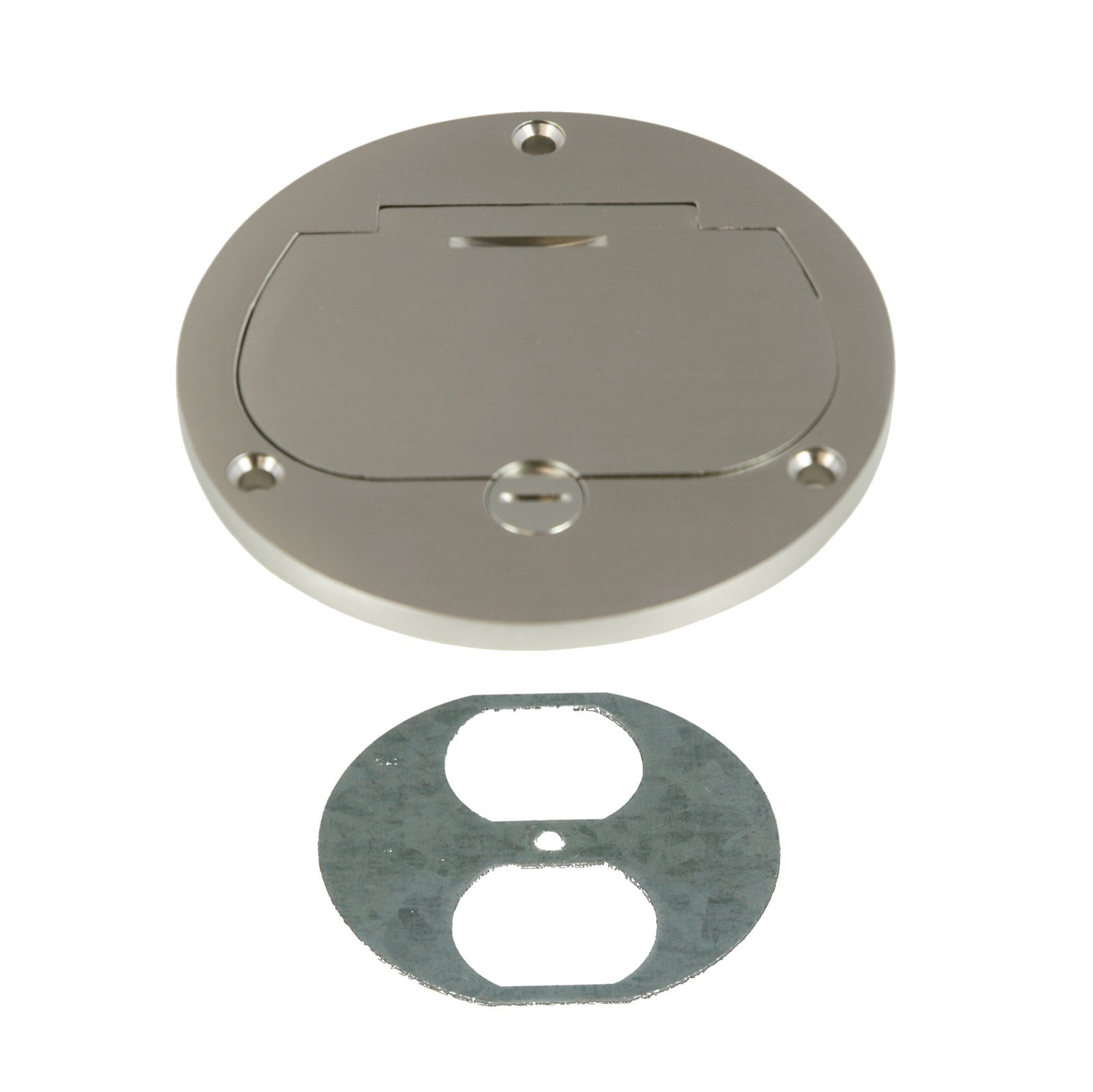 Cheap Floor Box Receptacle Find Deals On Line 15 Or 20 Amp Tamper Weather Resistant Gfci Receptacles Get Quotations Enerlites 975502 S 4 Hinged Cover Flange 20a Duplex