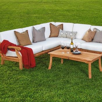 Teak Wood Corner Sofa Set Designs Pictures Furniture Ideas