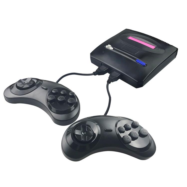 नई आगमन दो नियंत्रकों के साथ सेगा 16bit मिनी रेट्रो के लिए गेम कंसोल