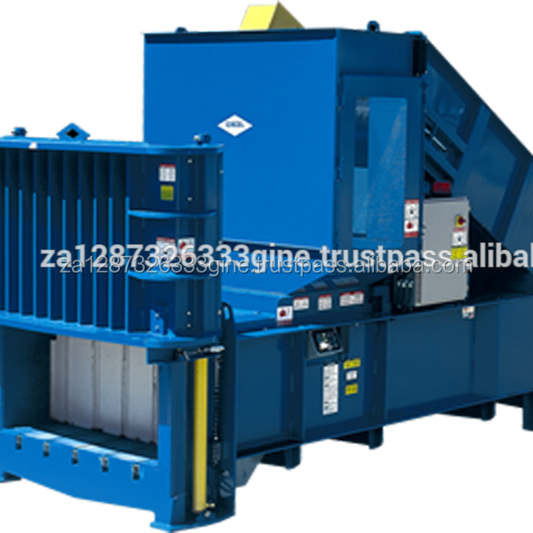 Horizontal and vertical pet plastic,cans and car bumper balers