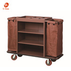 China housekeeping supplies Wholesale Hotel Housekeeping Cleaning Trolley