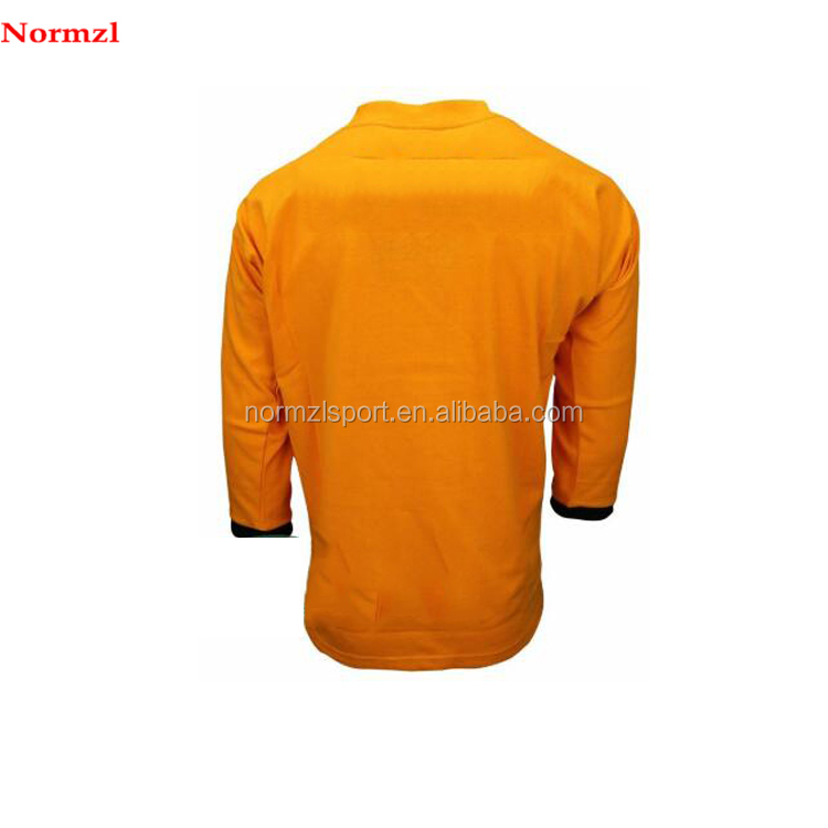 Made in China long sleeve sublimation men rugby jersey custom team wear