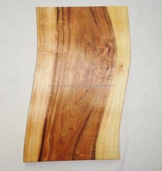 l 39 arbre naturel tranche planche d couper en bois d 39 acacia en bois planche d couper planche. Black Bedroom Furniture Sets. Home Design Ideas