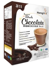 3 In 1 Instant Donkere chocolade Mout Energie Drankjes