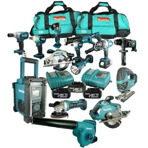 Buy Quality And Original Makita LXT1500 18-Volt LXT Lithium-Ion Cord-Less  15-Piece Combo Kit Cost/Free shipping Original Makita