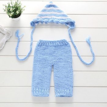 Sky Blue Stripe Two-piece