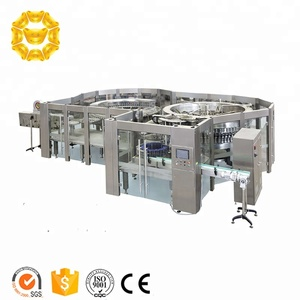 2017 new investment Project bottle beverage production line