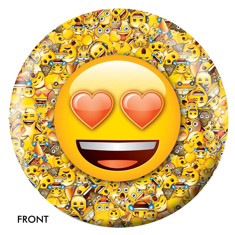 Emoji Who Loves Ya Bowling Ball