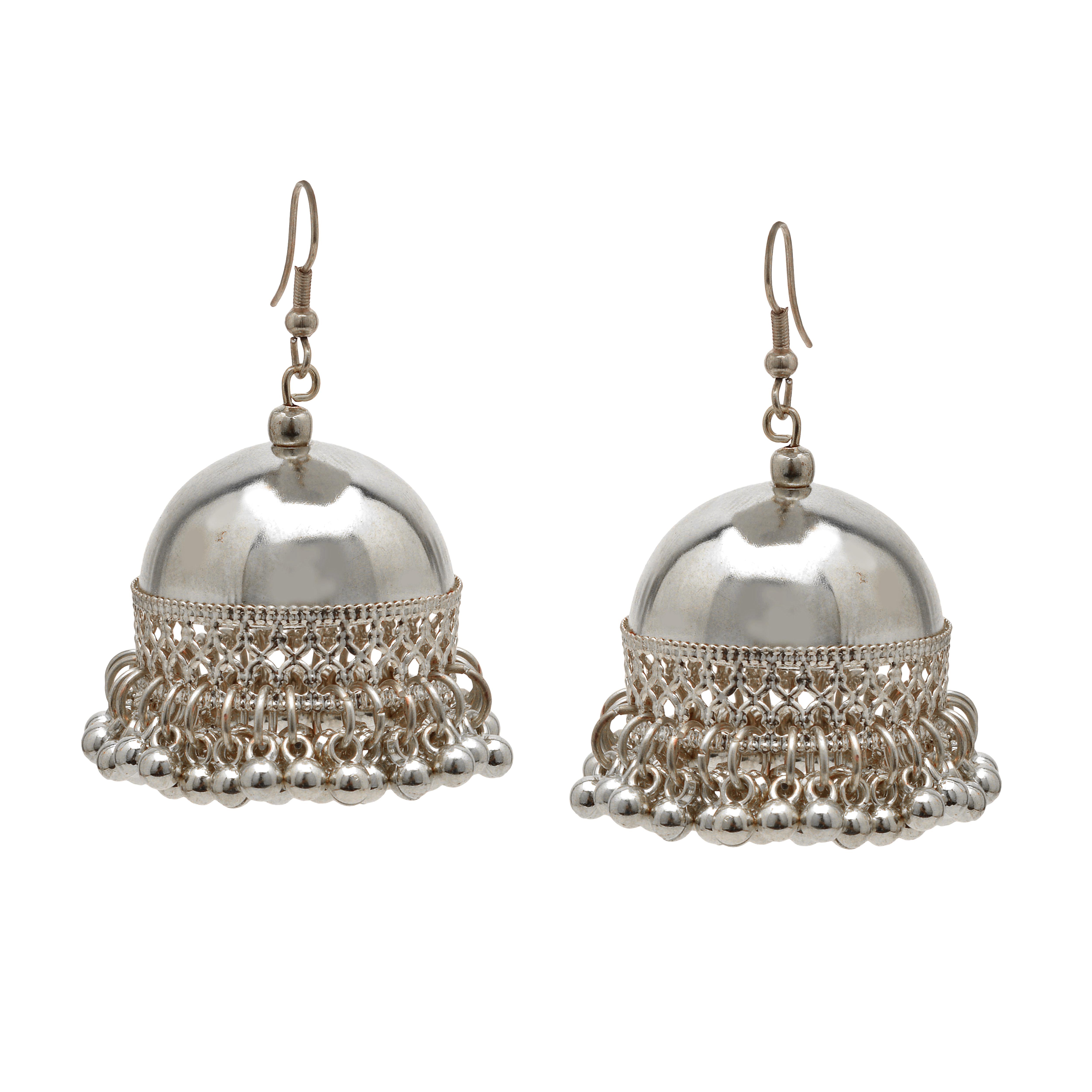 Numame Jhumka Earrings Women S Traditional German Silver Ethnic Dangle Drop Fashion Product On