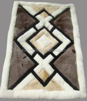 Alpaca Rug Carpet Peru 60x76