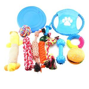 12 Gift Pack Dog Squeaky Chew Pet Toy