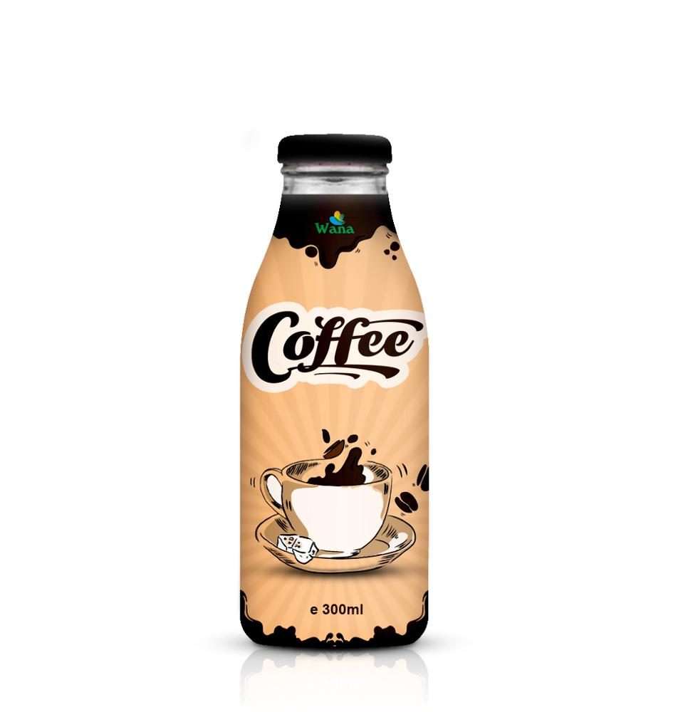 Especial White Coffee Drink In 300ml Glass Bottle