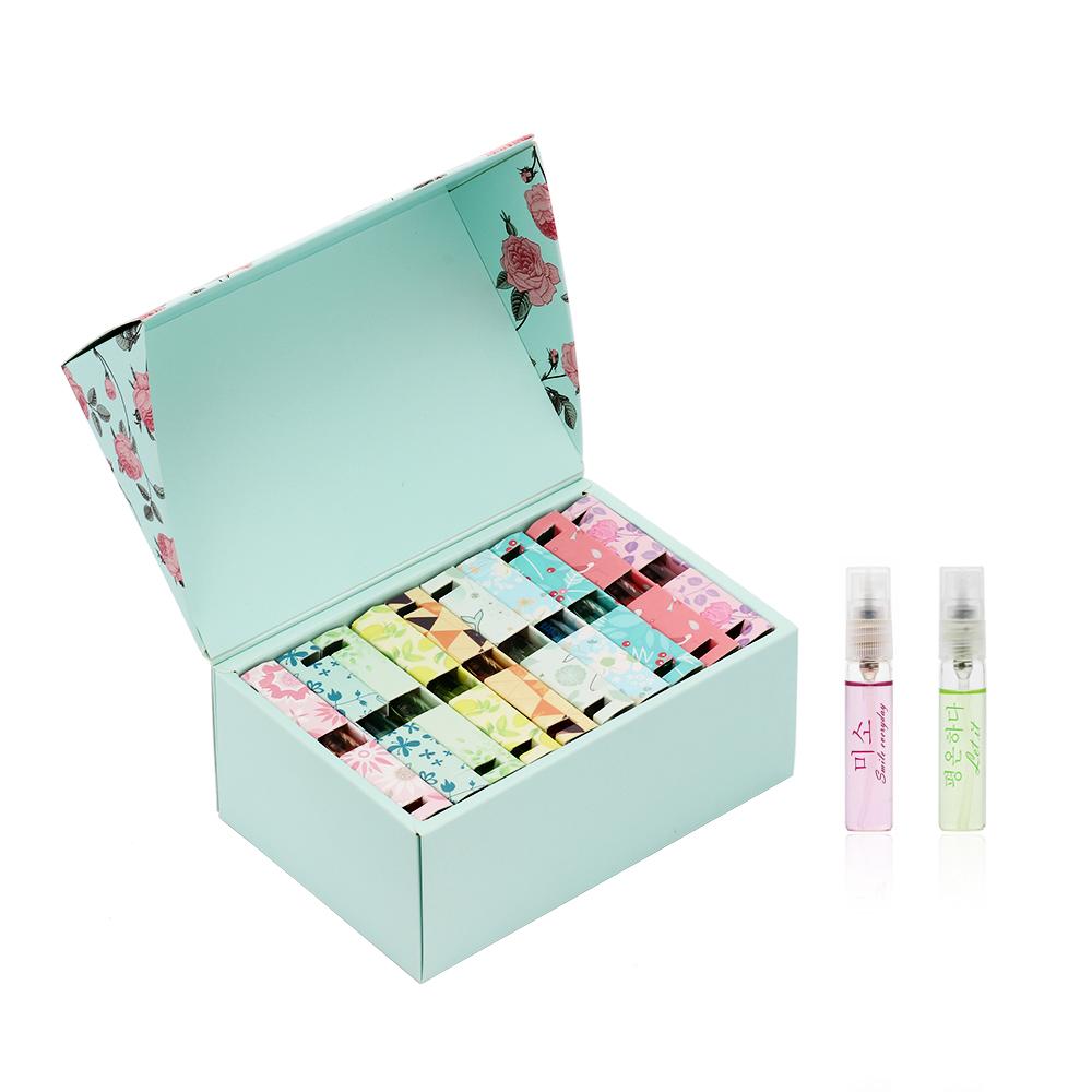 Guangzhou Zuofun Voorraad Groothandel Economische Aardige Dame Natuurlijke Mini Pocket Parfum Set