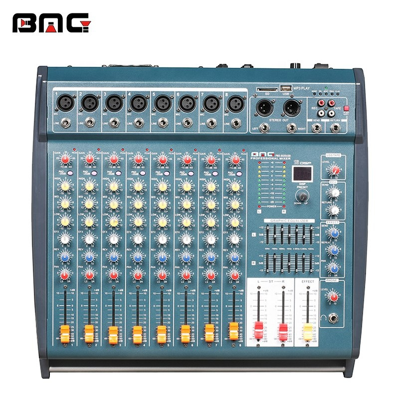 BMG PMX-802D MP3 Professional Sound System Equipment is Mixer DJ and Audio  DSP for Concert, View professional sound system equipment, BMG Product