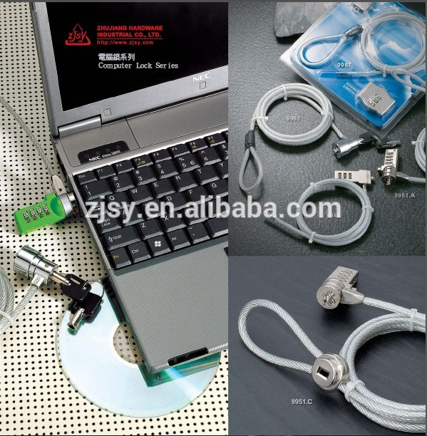 high quality laptop cute combination lock