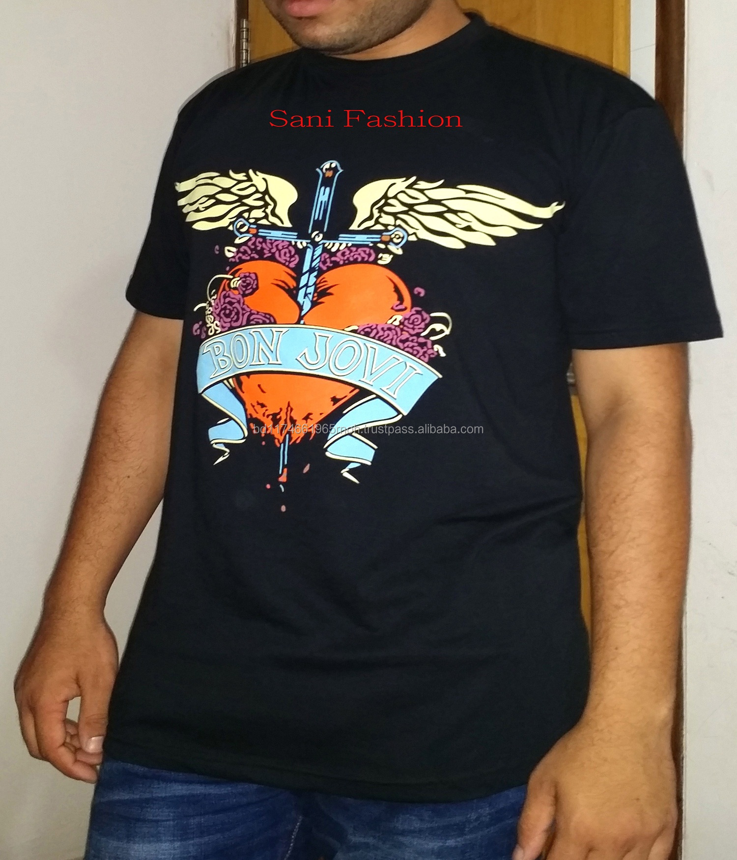 bd686d37e Custom T Shirt 100% Cotton Print Your Own Slimfit T Shirt For Men Stranger  Things Short Sleeves Customized Blouse Shirts