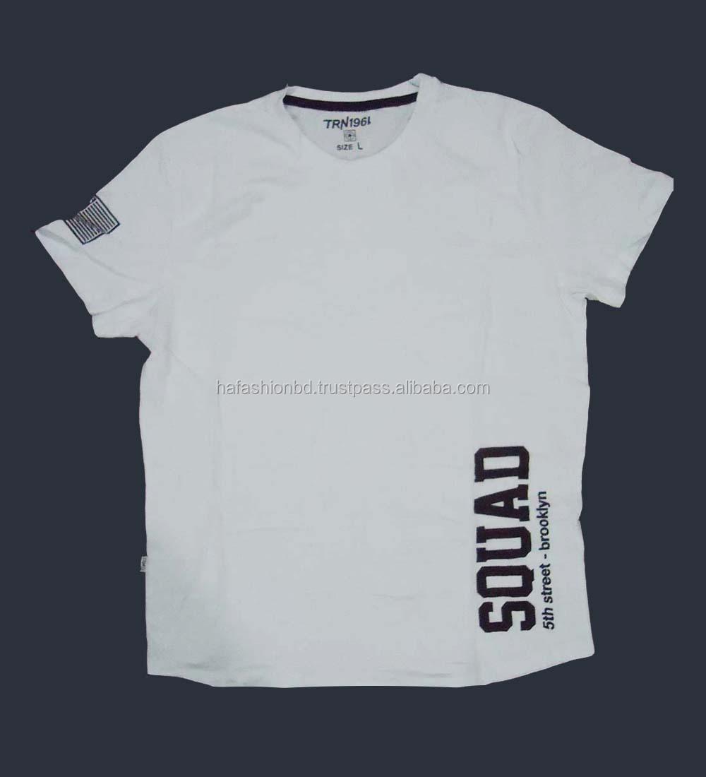 a26c7378a T-shirt custom design printed promotional men t shirts 100% Cotton single  jersey Men's