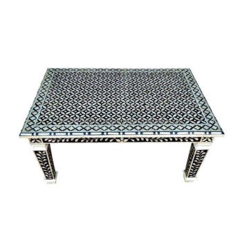 Enjoyable Black Bone Inlay Mango Wood Coffee Table Buy Wooden Coffee Tables Bone Inlay Coffee Table Indian Bone Inlay Coffee Talbe Product On Alibaba Com Dailytribune Chair Design For Home Dailytribuneorg