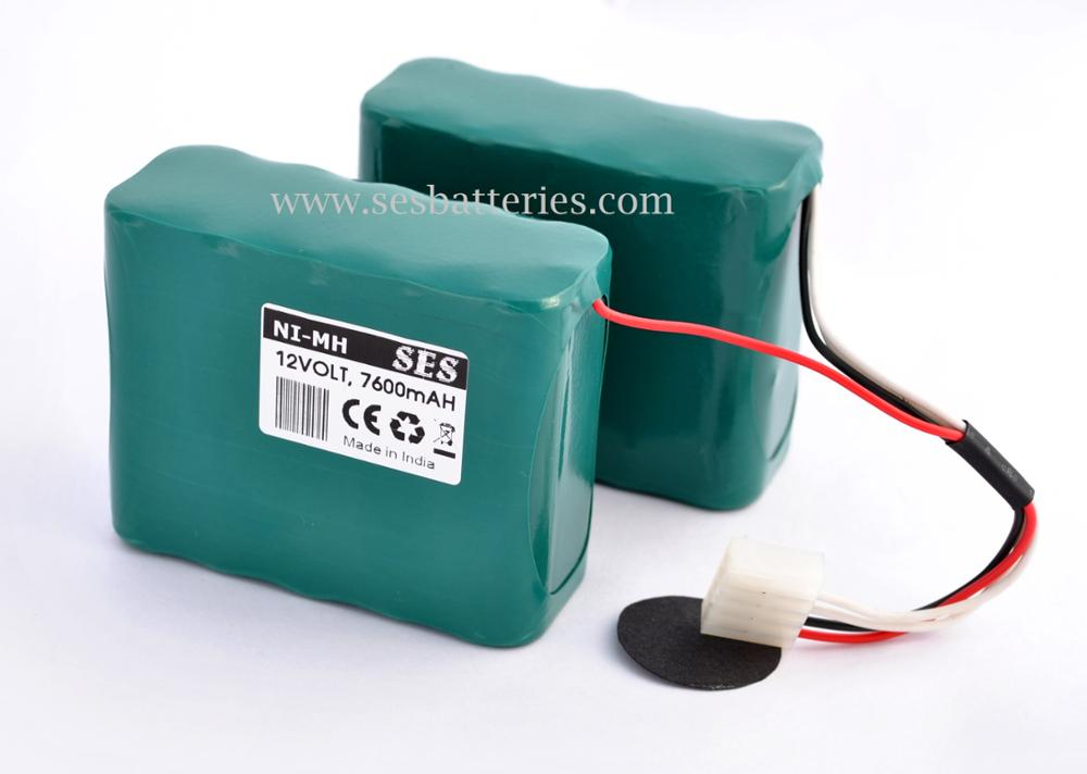 12v 7.6ah Ni-mh Compatible Battery For Dinamap Pro 1000 Battery ...