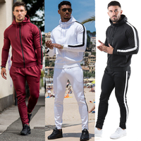 Polyester/Cotton Material and Training&Jogging Wear Sportswear Type tracksuits wholesale