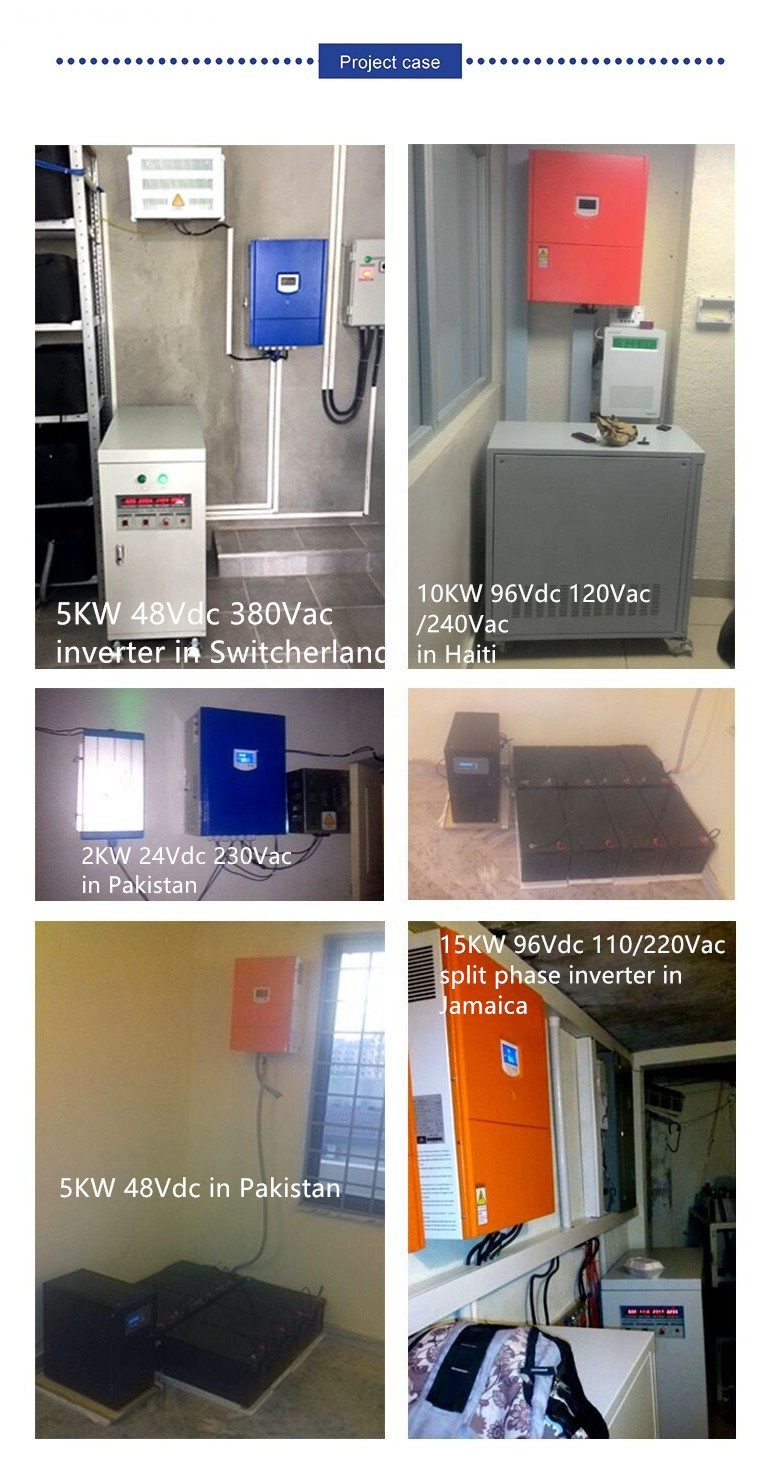 Off grid Three phase inverter 60KVA