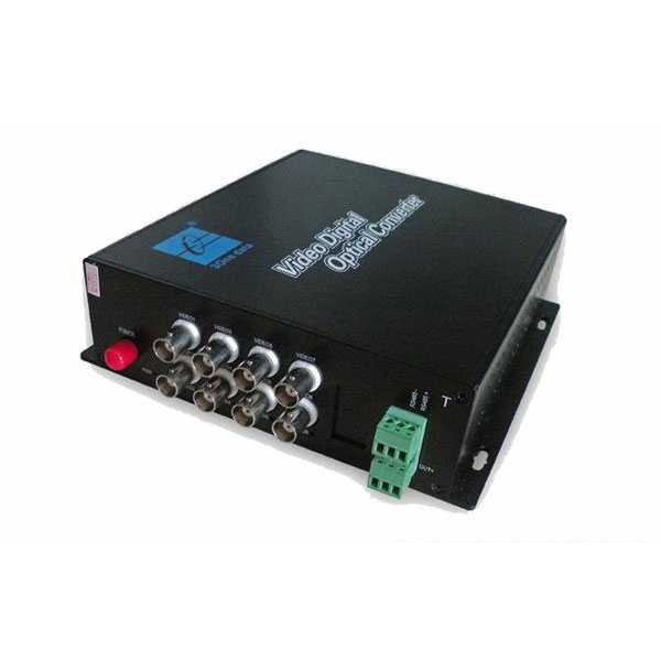 8 Kanäle Digital Video Optical Transceiver