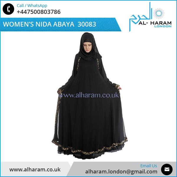 Dubai Black Abaya Dress Women Islamic Clothing Abaya At Reliable