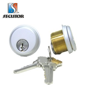 Top Quality Construction Key Function 1 Inch Mortise Cylinder