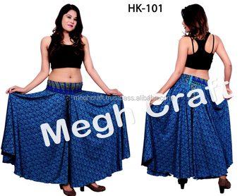21b4113207 Designer Indo western style Umbrella Trouser skirts- Fashion Wear Trouser  Pants-Indian Fusion Style
