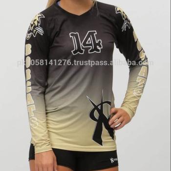Cinco Manga Corta Sólido Jersey De Voleibol 3972a1969ef27