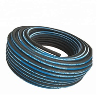 3/8 Inch SAE 100R2AT / 2SN High Pressure Steel Wire Braid Oil Resistant Rubber Pikes Hydraulic Hose for Excavator