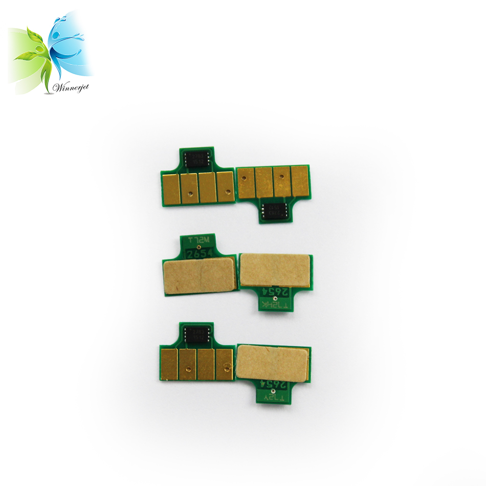 printer ink cartridge chip compatible chip for hp t7100 single latex ink