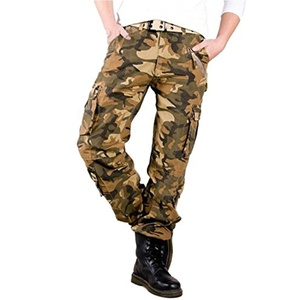 Wholesale mens relaxed fit legend wash cargo pants