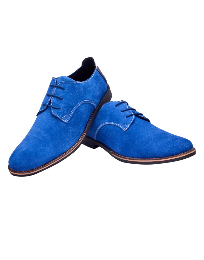 BXXY'S FORMAL AND SEMI FORMAL GENUINE SUEDE LEATHER DERBY STYLE CASUAL LACE UP SHOES