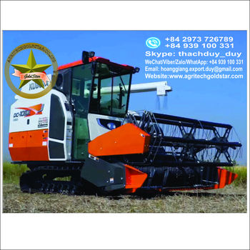 KUBOTA COMBINE HARVESTER DC105X READY FOR SALE EXPORT