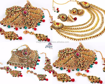 Bollywood Style Kundan Necklace Set 2018 Bollywood Fashion Bridal