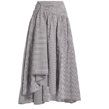 5d407d632 Women Linen Cotton Long Skirts Elastic Waist Pleated Maxi Skirts ...