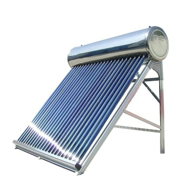 Rooftop low pressure stainless steel Sun Power Solar Water Heater Sus304 Solar Water Heater