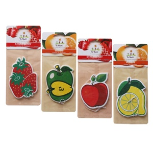 NEW design Custom Air Freshener Paper Hanging for car